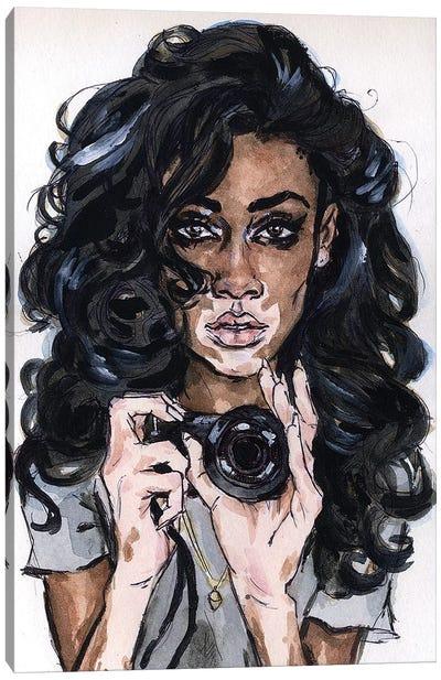 Winnie H Canvas Art Print