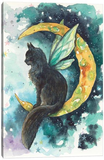 Mischeif Moon Fae Canvas Art Print