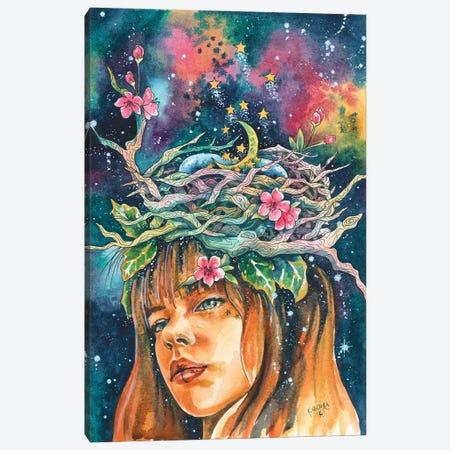 The Birth Of Stars Canvas Print #KTF14} by Kat Fedora Canvas Art
