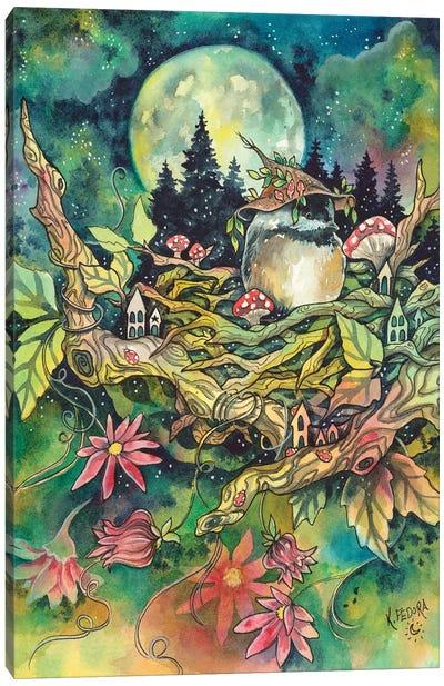 Feathered Nest Canvas Art Print