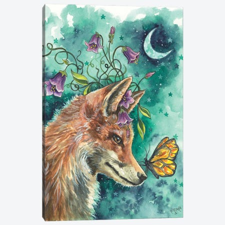 The Language Of Flowers Canvas Print #KTF33} by Kat Fedora Art Print