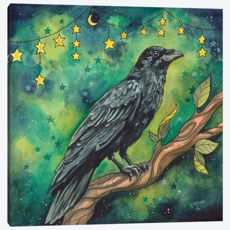 Star Chimes Canvas Print #KTF34} by Kat Fedora Canvas Wall Art