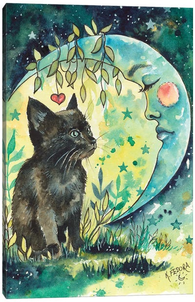 Spirit Moon Canvas Art Print