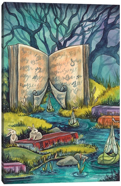 Into Stories Canvas Art Print