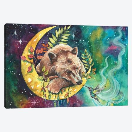 Charming The Beast Canvas Print #KTF4} by Kat Fedora Art Print