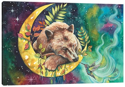 Charming The Beast Canvas Art Print