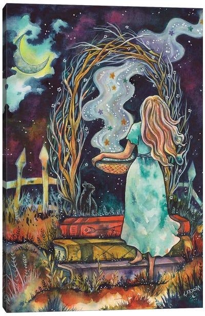 The Magic Garden Canvas Art Print