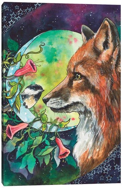 Confidants Canvas Art Print