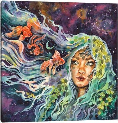 Mermaid Soul Canvas Art Print