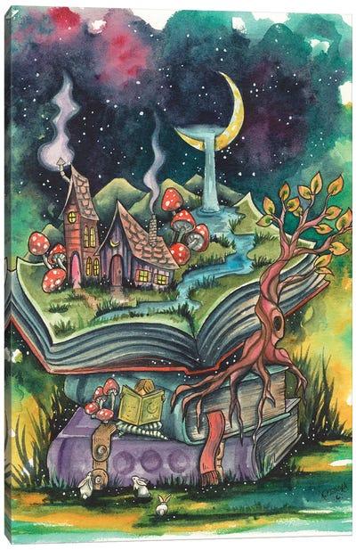 Imaginary Worlds Canvas Art Print