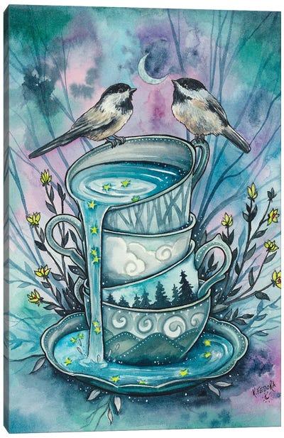 Invitation To Tea Canvas Art Print