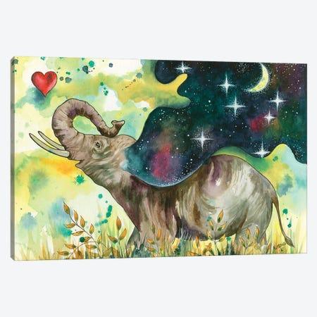 Joy Filled Canvas Print #KTF8} by Kat Fedora Canvas Artwork