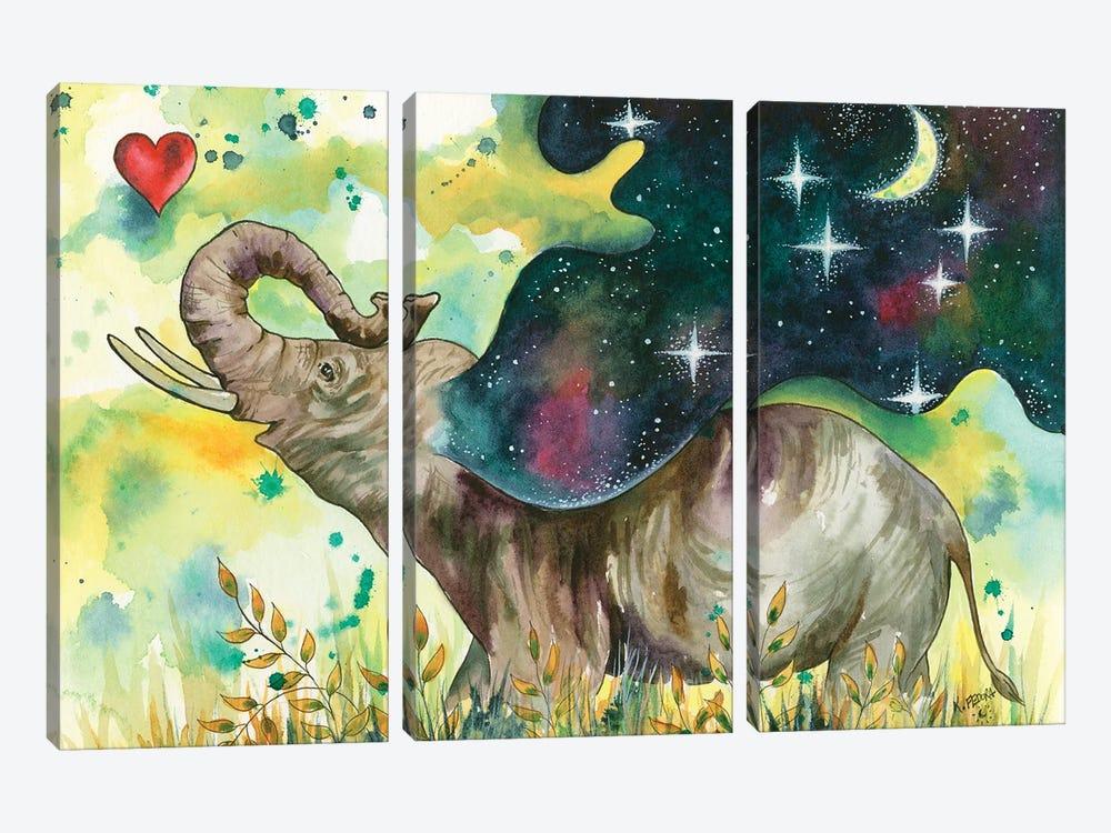 Joy Filled by Kat Fedora 3-piece Canvas Artwork