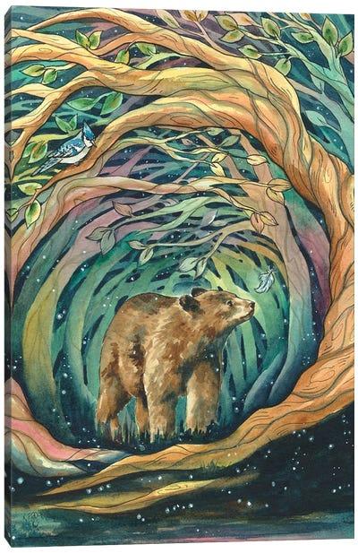 Magical Woodlands Canvas Art Print