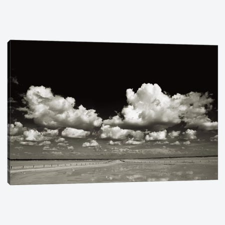 B&W On The Journey Canvas Print #KTI48} by Klaus Tiedge Canvas Art Print