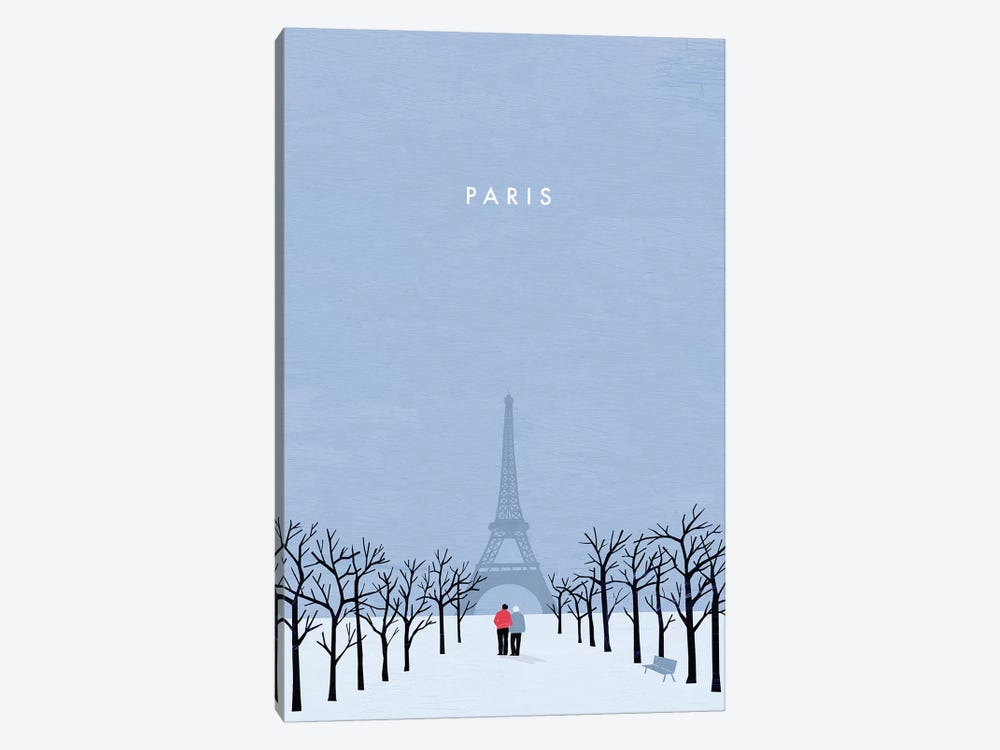 Paris by Katinka Reinke 1-piece Canvas Wall Art