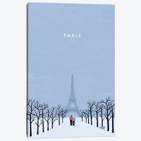 Paris Canvas Print #KTK12} by Katinka Reinke Canvas Art