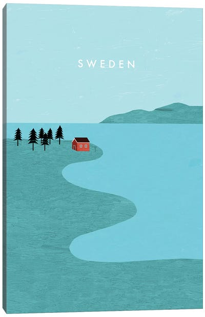 Sweden Canvas Art Print