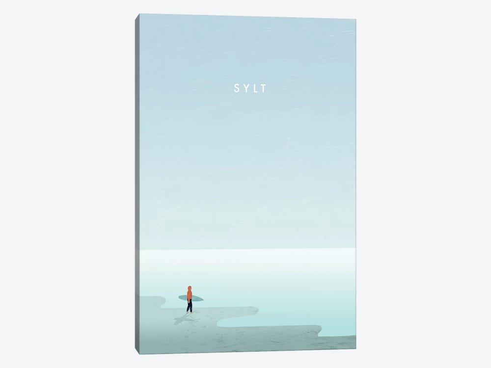 Sylt by Katinka Reinke 1-piece Canvas Artwork