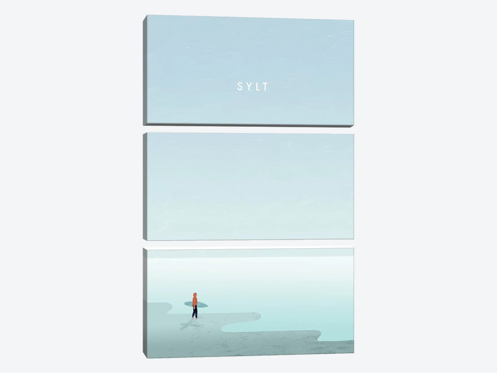 Sylt by Katinka Reinke 3-piece Canvas Art