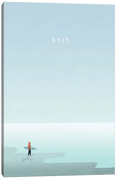 Sylt Canvas Art Print
