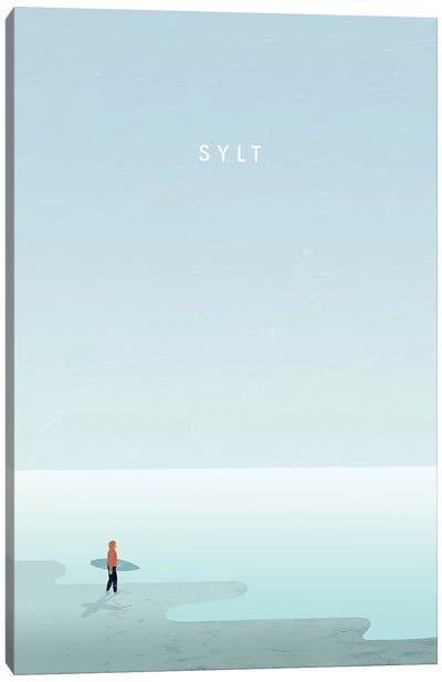 Sylt Canvas Art Print