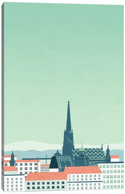 Wien Canvas Art Print