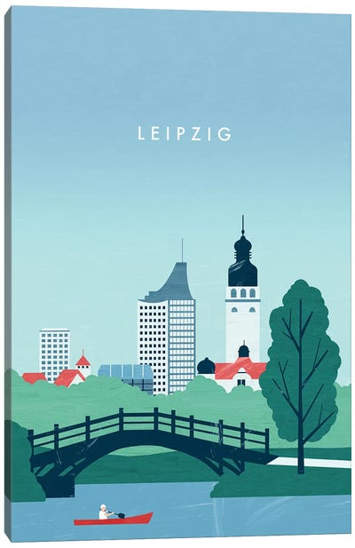 Leipzig Canvas Art Print