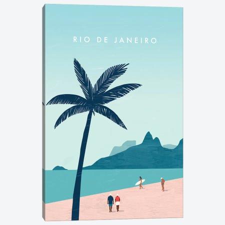 Rio de Janeiro Canvas Print #KTK18} by Katinka Reinke Canvas Art