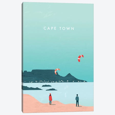 Cape Town Canvas Print #KTK19} by Katinka Reinke Canvas Art