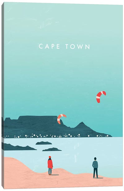 Cape Town Canvas Art Print
