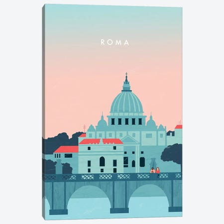 Roma Canvas Print #KTK20} by Katinka Reinke Canvas Art Print