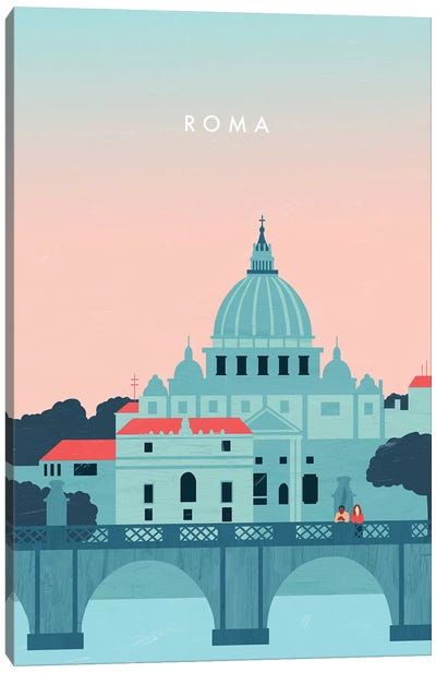 Roma Canvas Art Print