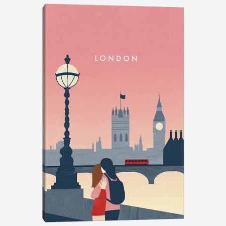 London I Canvas Print #KTK23} by Katinka Reinke Canvas Print