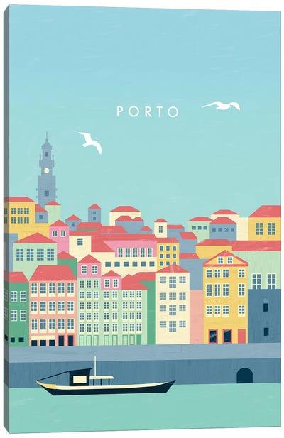 Porto Canvas Art Print