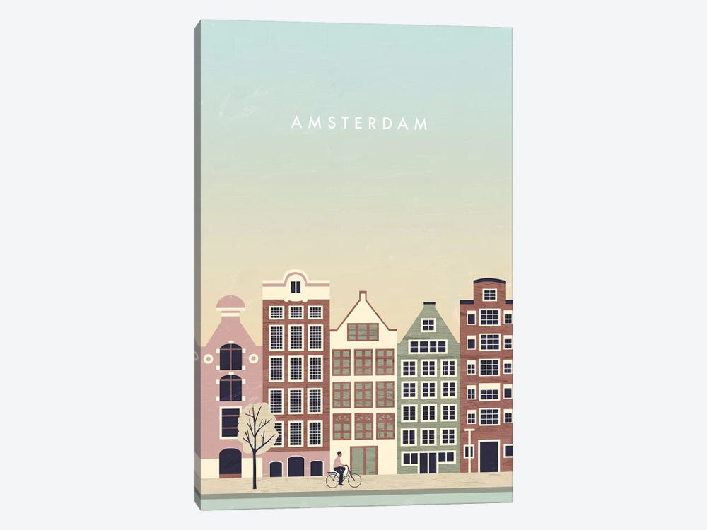 Amsterdam by Katinka Reinke 1-piece Canvas Print