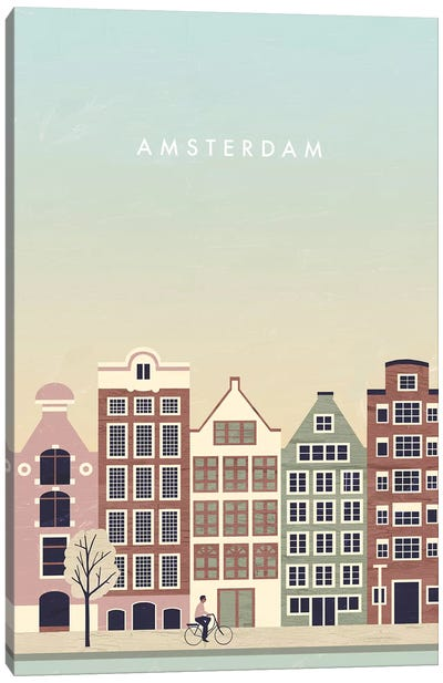 Amsterdam Canvas Art Print
