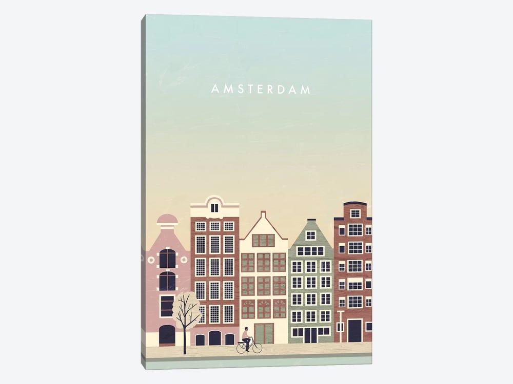 Amsterdam by Katinka Reinke 1-piece Canvas Print