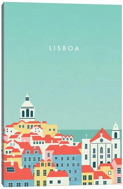 Lisboa Canvas Art Print