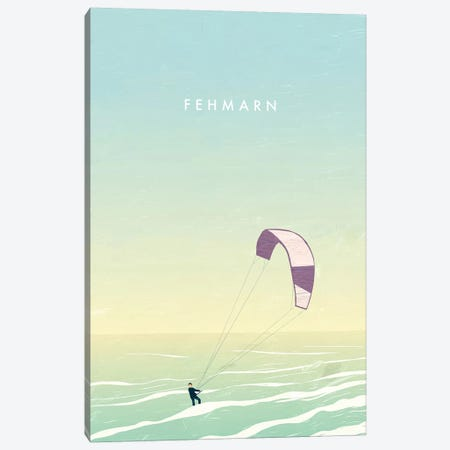 Fehmarn 3-Piece Canvas #KTK5} by Katinka Reinke Canvas Artwork