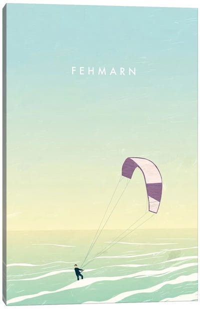Fehmarn Canvas Art Print