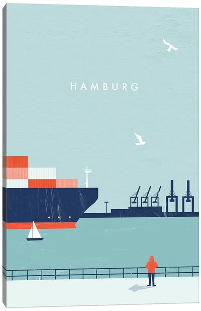Hamburg Canvas Art Print