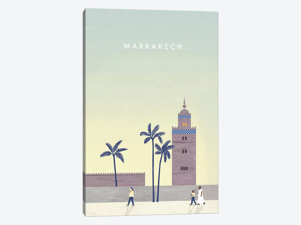 Marrakech by Katinka Reinke 1-piece Canvas Art Print