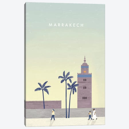 Marrakech 3-Piece Canvas #KTK8} by Katinka Reinke Art Print