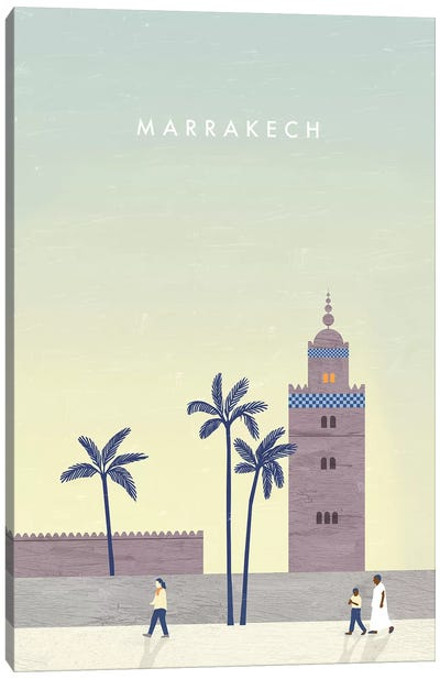 Marrakech Canvas Art Print