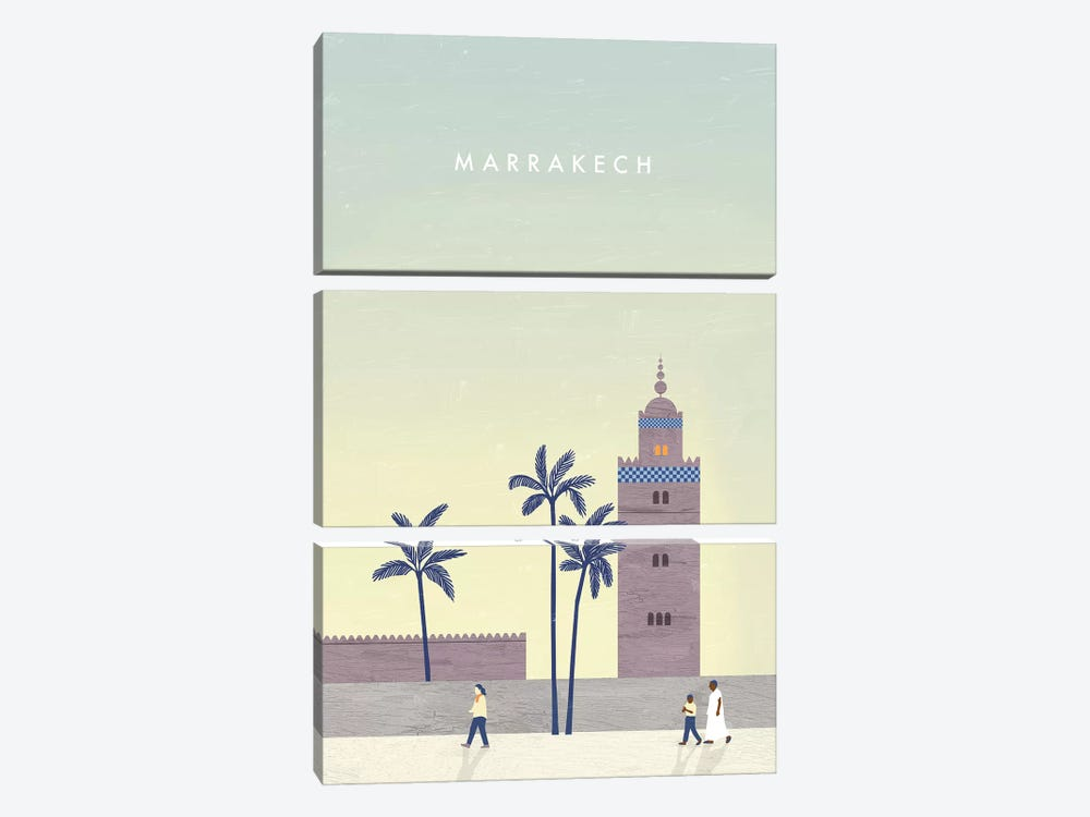 Marrakech by Katinka Reinke 3-piece Canvas Art Print