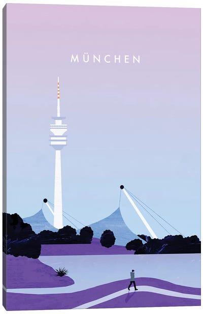 München Canvas Art Print