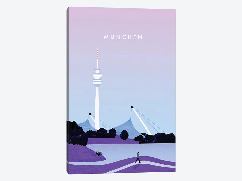 München by Katinka Reinke 1-piece Canvas Artwork