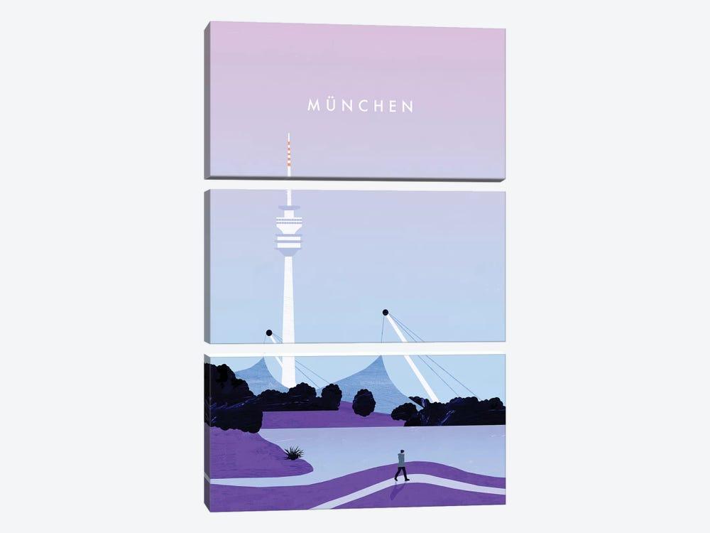 München by Katinka Reinke 3-piece Canvas Artwork