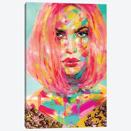 Christy Canvas Print #KTO13} by Kate Tova Canvas Wall Art